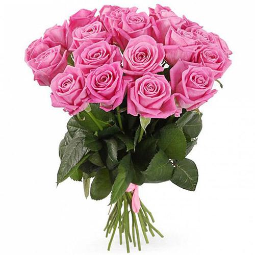 """букет 21 роза """"Аква"""""""