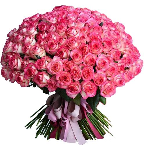 """101 троянда """"Джумілія"""" фото"""