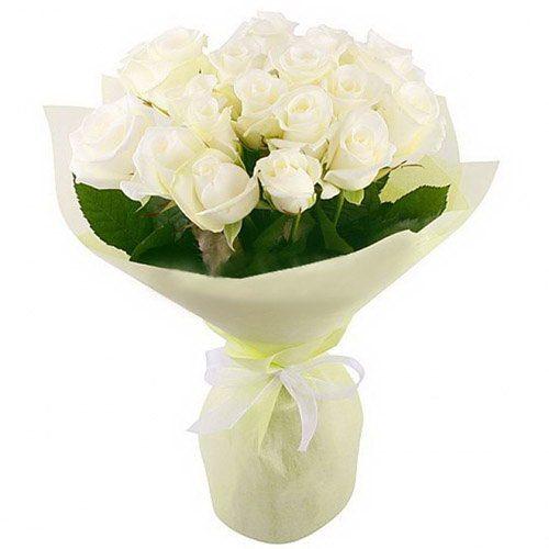 товар 19 белых роз