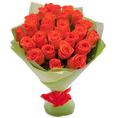 """букет 25 роз """"Вау"""""""