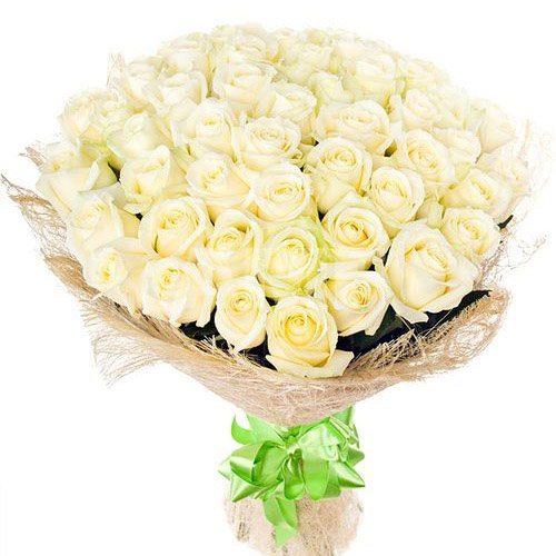 товар 51 белая роза