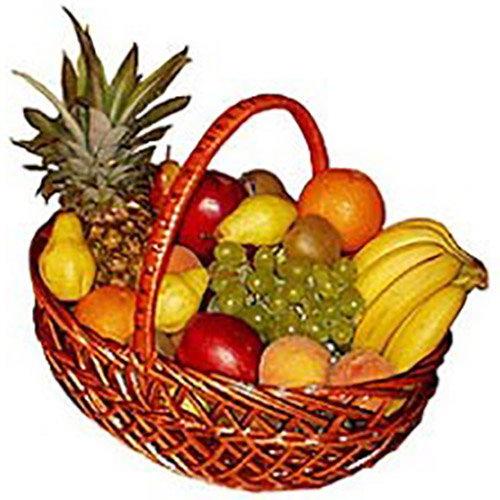 товар Большая корзина фруктов фото