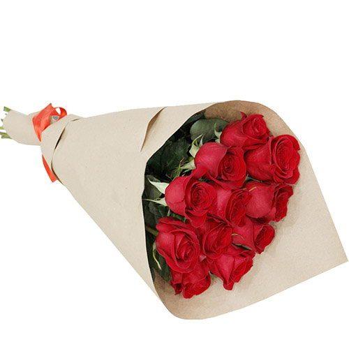 """Букет """"С тобой"""" 11 красных роз"""