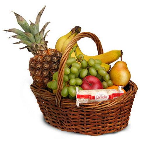 товар Средняя корзина фруктов фото