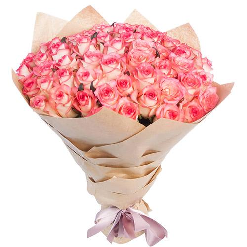 """букет 51 роза""""Джумилия"""""""