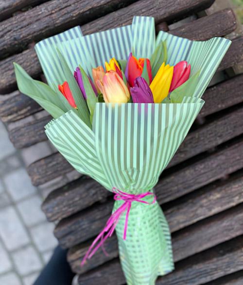 11 тюльпанов фото букета